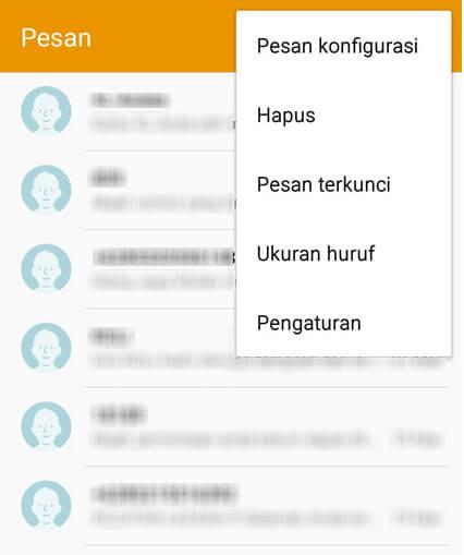 Setting SMSC Provider Di Android