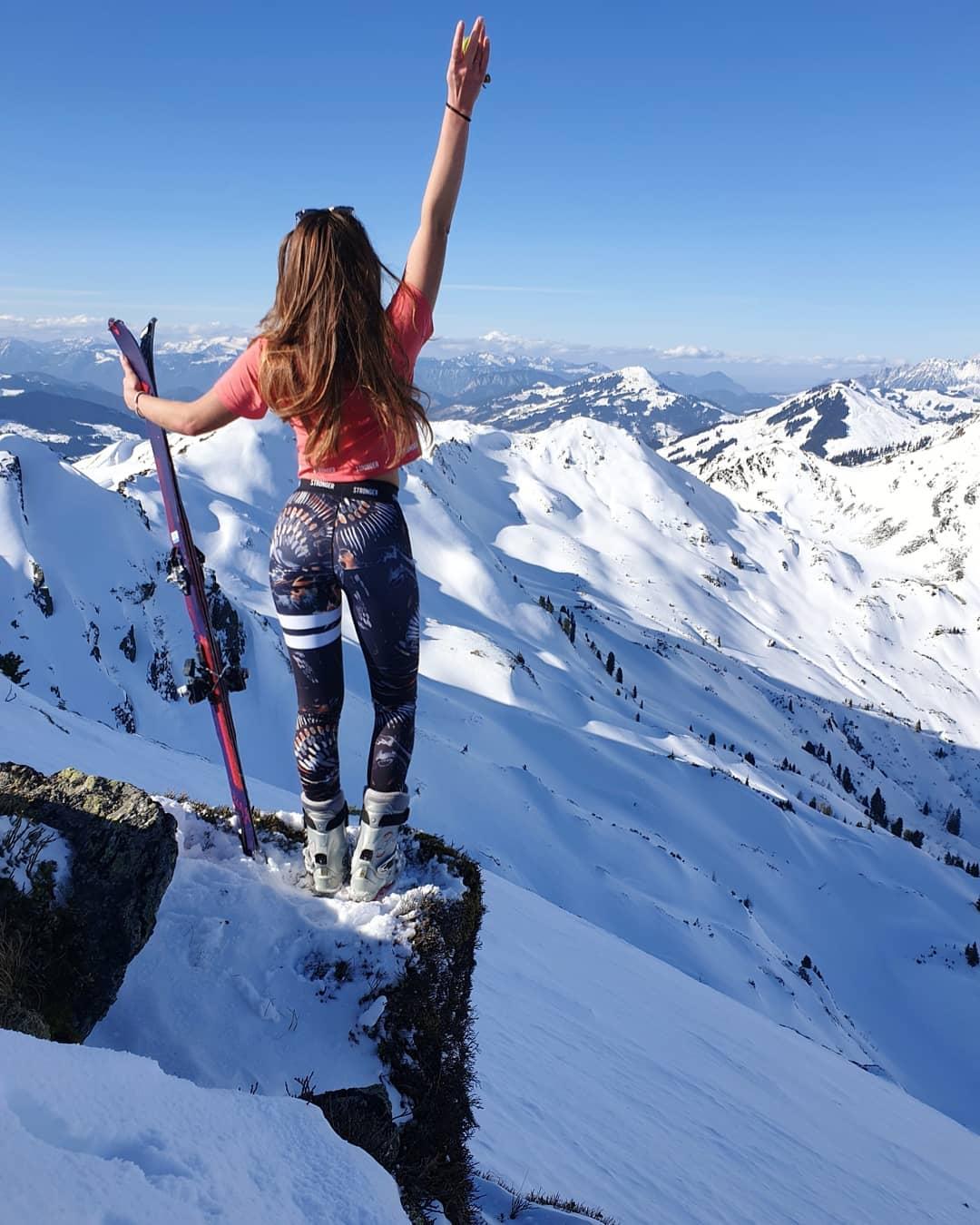 Kitzbuher wisata musim salju eropa