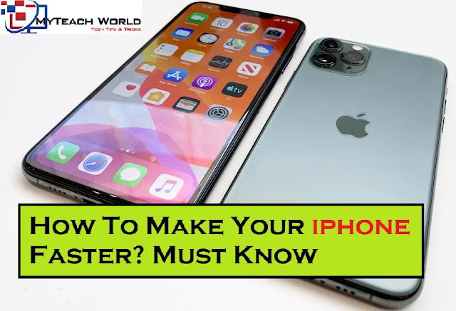 How To Make Your iphone Faster | Follow some Steps to make iPhone run faster