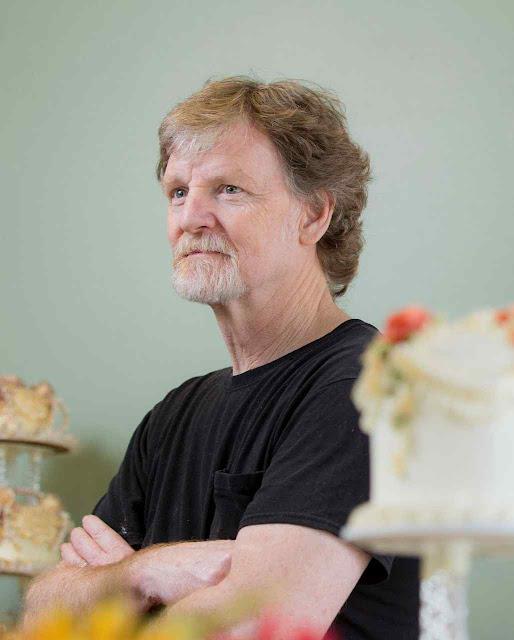 Jack Phillips recusa serviços para festas contrárias à Fé e à moral.