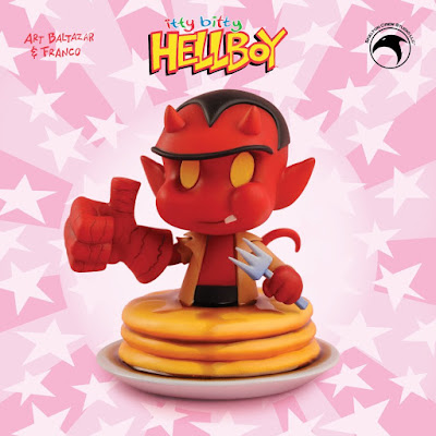 Itty Bitty Hellboy Mini Bust by Art Baltazar x Skelton Crew Studio x Mike Mignola