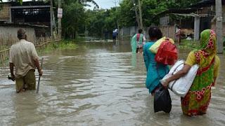 #JaunpurLive :  गंगा समेत कई बड़ी नदियां खतरे के निशान से ऊपर, बिहार में बाढ़ के हालात