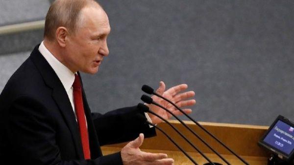 Putin acusa a EE.UU. de reducir competencia europea