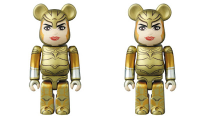 Wonder Woman 1984 Gold Eagle Armor Edition 100% Be@rbrick Vinyl Figure by Medicom Toy