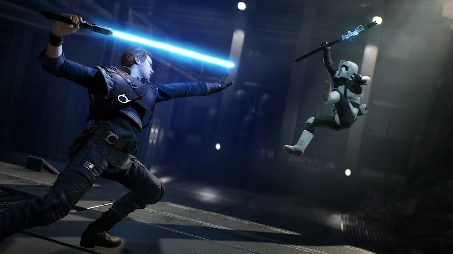 star wars jedi fallen order lightsaber uhdpaper.com 4K 14