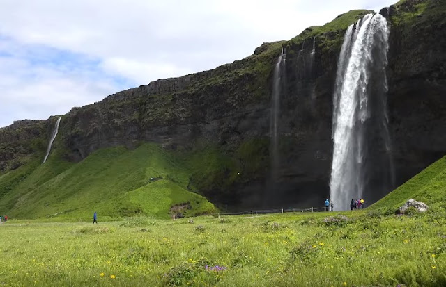 Seljalandsfoss waterfall southern Iceland tour