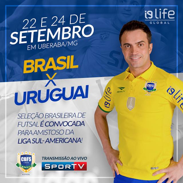 Seleção Brasileira de Futsal é i9life