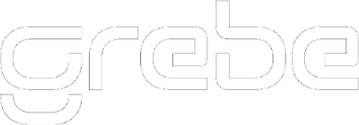 Grebe logo vector mal