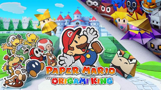 Prévia: Paper Mario: The Origami King (Switch) promete ser o próximo ponto alto da série