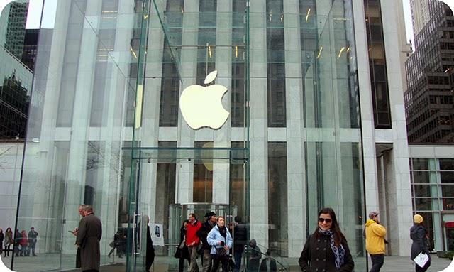 Compras em New York : Apple Store