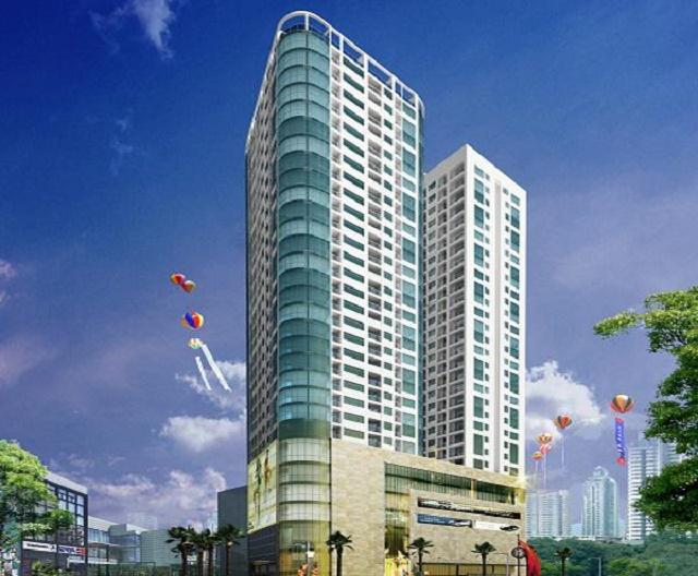 Phối cảnh chung cư Quang Minh Tower