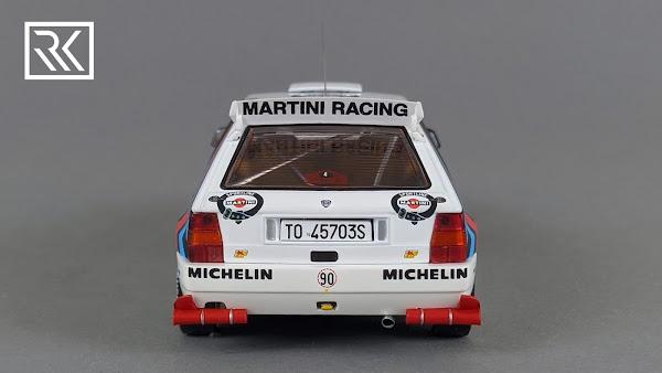 Zdjęcie modelu 1:43 HPI Racing Lancia Delta HF Integrale Evoluzione, Didier Auriol / Bernard Occeli, Winner Rallye Monte-Carlo 1992