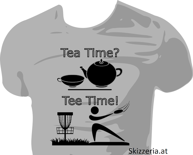 Tee Time Disc Golf Shirt
