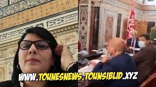 """(بالفيديو) عبير موسي للغنوشي: """"كي يموتو كبار الحومة توّة تشدّ إنت رئيس الجمهورية يا......"""