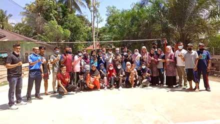 Nagari Binjai Tapan Peroleh Program SDI dari Kemenpora RI