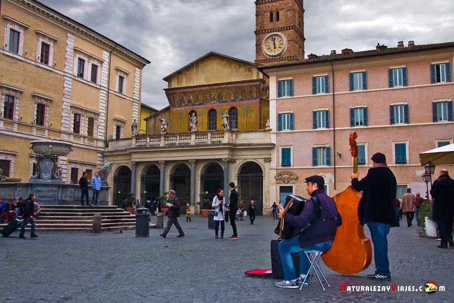 Barrio Trastevere, Roma