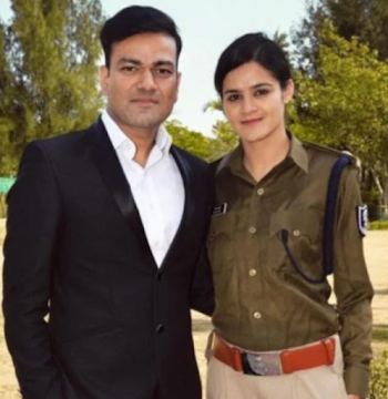 IAS Tushar Singla got married to IPS Navjot Simmi