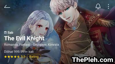 Komik the evil knight