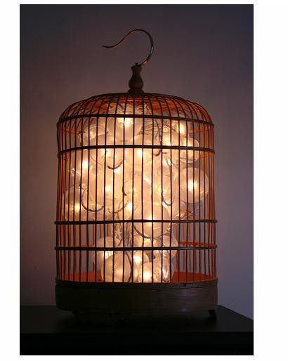 Birdcage light fixtures  An option you can experiment ...