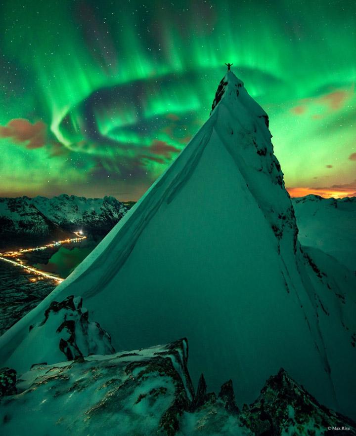 gökyüzü ve dağ manzara resimleri
