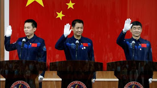 China will launch spacecraft with 3 astronauts on June 17