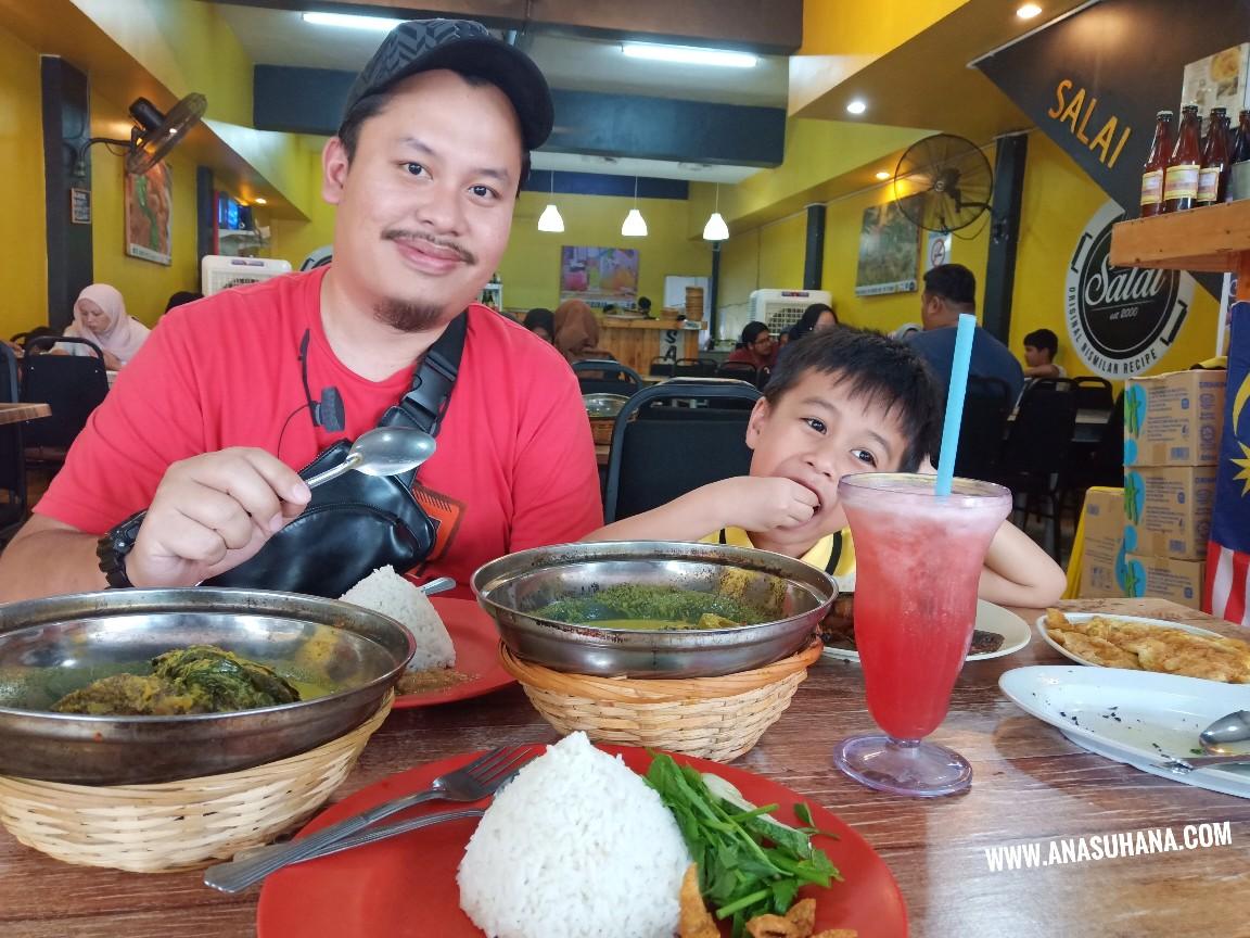 Lunch di Warung Salai - Tempat Makan Best di Port Dickson