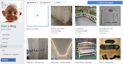 Foto Alben auf meiner Facebook Blogseite