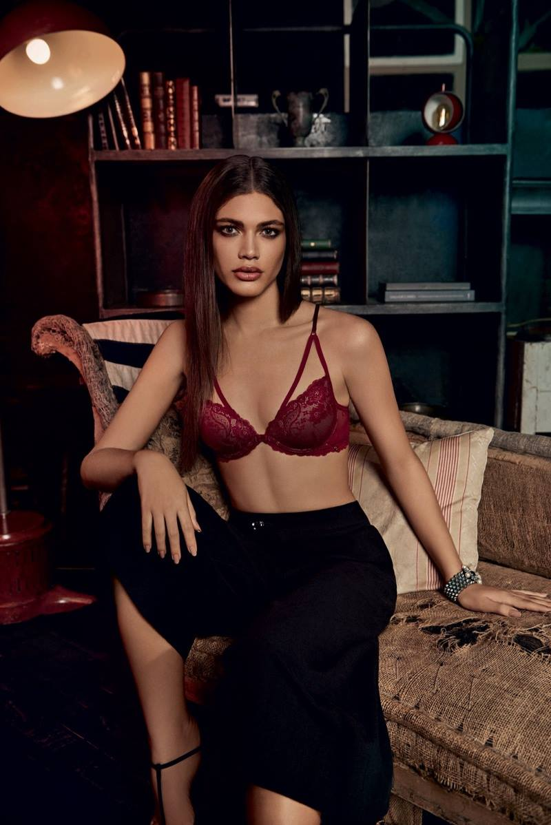 Hope Lingerie   Ad Campaign Valentina Sampaio by Alexandre Herchcovitch