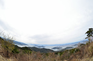 絵下山からの景色(空中心)