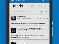 BBM MOD Windows Phone V3.0.1.25 With Facebook Fragment  Terbaru 2016