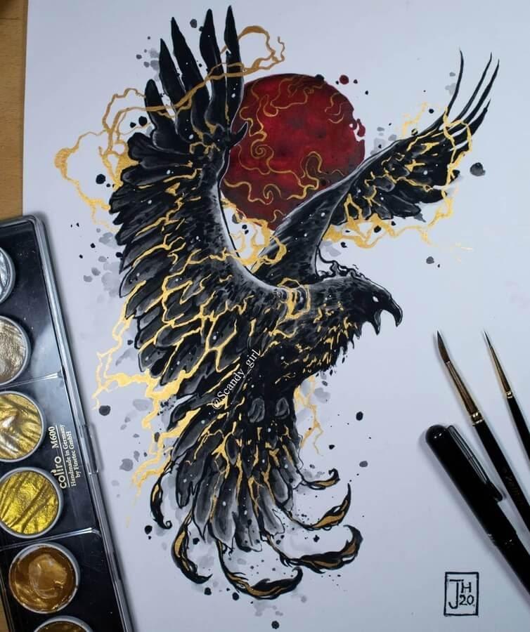 11-Thunderbird-Mythology-Jonna-Hyttinen-www-designstack-co