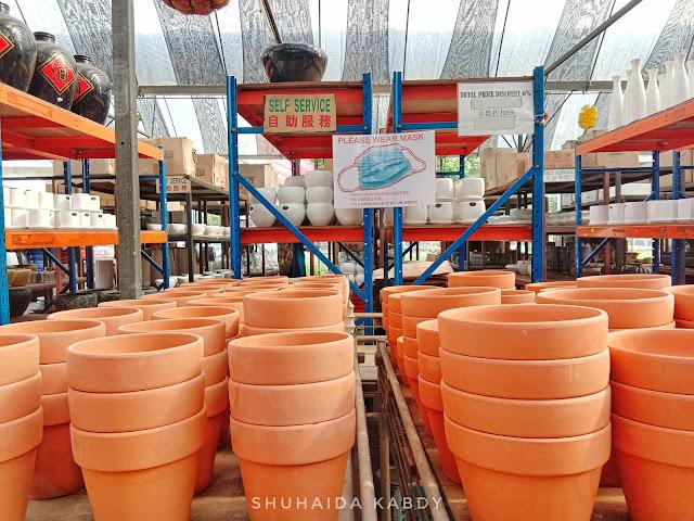 Potters Garden Kedai Pasu Bunga Viral