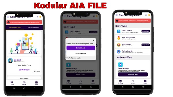 Download High Quality Task Kodular aia File