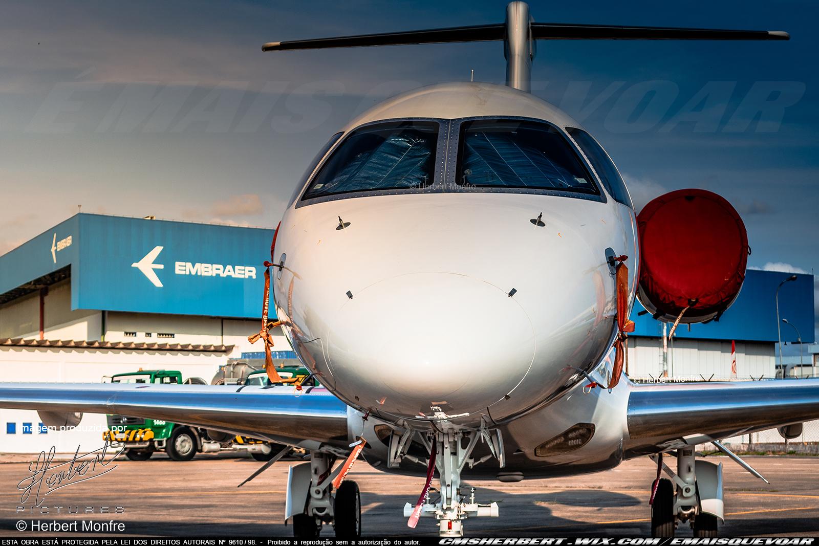 Embraer fecha negócio de US$1,4 bilhão com a Flexjet | Foto © Herbert Monfre | É MAIS QUE VOAR