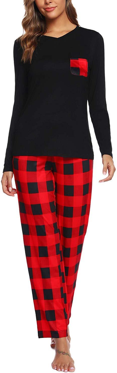 50%OFF Women's Long Sleeve Christmas Pajama Set