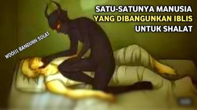 Kisah Iblis bangunkan Muawiyah untuk solat | ikuti kisah