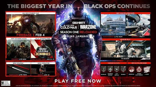 الكشف عن محتوى المرحلة الثانية من الموسم الأول للعبة Call of Duty Black Ops Cold War و خريطة طور الزومبي Firebase Z