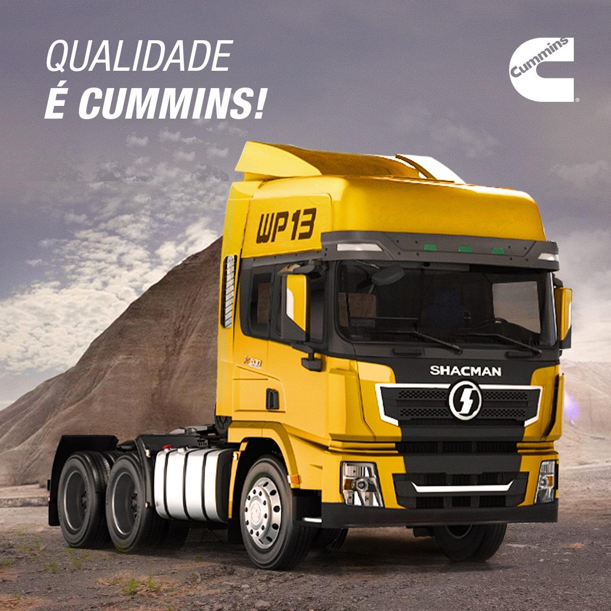 Shacman vai voltar ao Brasil, agora com motores Cummins