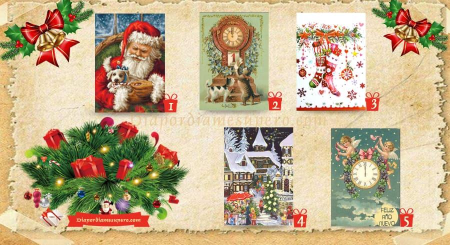 El test de las tarjetas navideñas