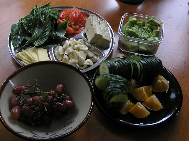 raw food meal