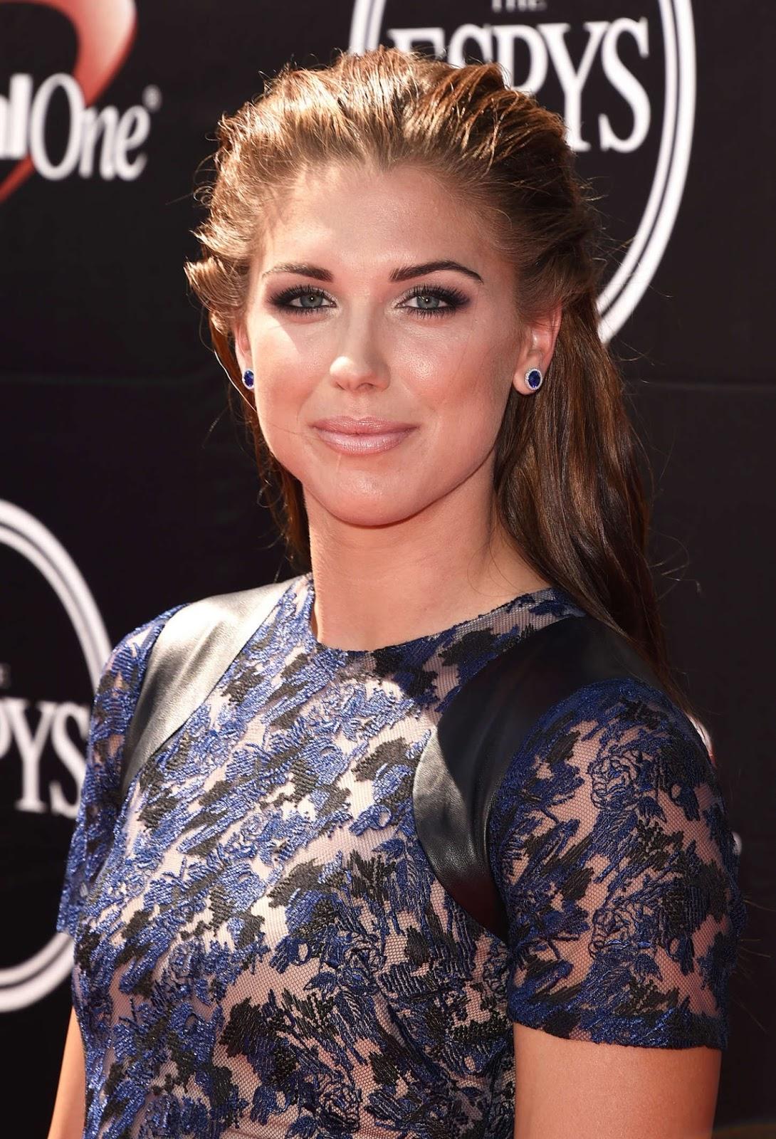 International Celebrities Alex Morgan 2015 Espys In Los Angeles