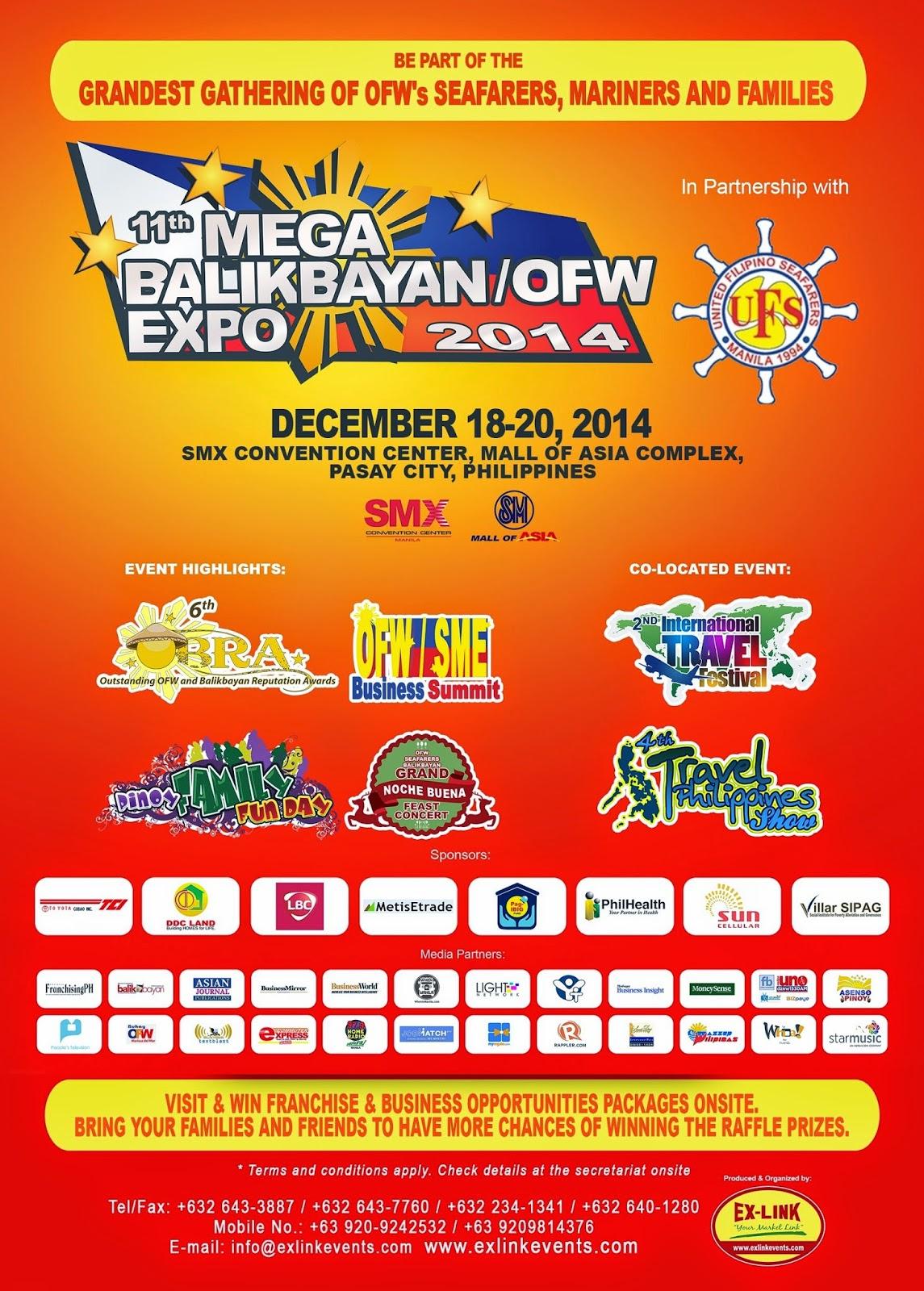 11th Megabalikbayan OFW Expo (MBOX)
