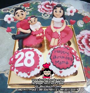 Cupcake Pasangan Cowok dan Cewek Anniversary