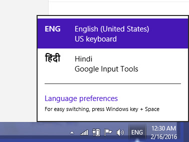 Google Hindi Keyword
