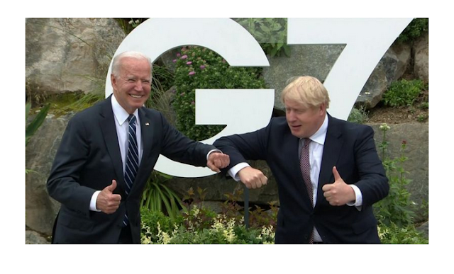 UK-US relationship is 'indestructible' Boris Johnson says based on G7 submit