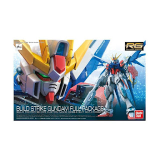 Bandai 10510 0477046 Gunpla Gundam RG Build Strike Full Package Model Kit [1:144]