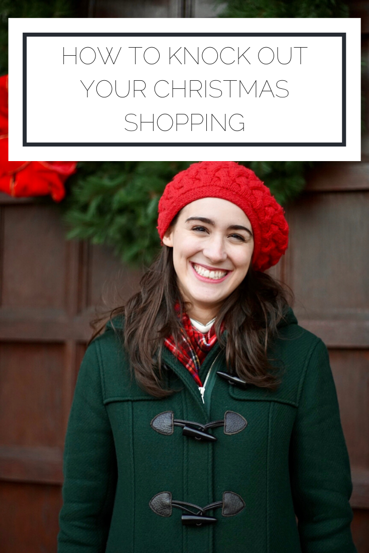 Click to read now or pin to save for later! Check out my top tips for doing all of your Christmas shopping efficiently and effectively
