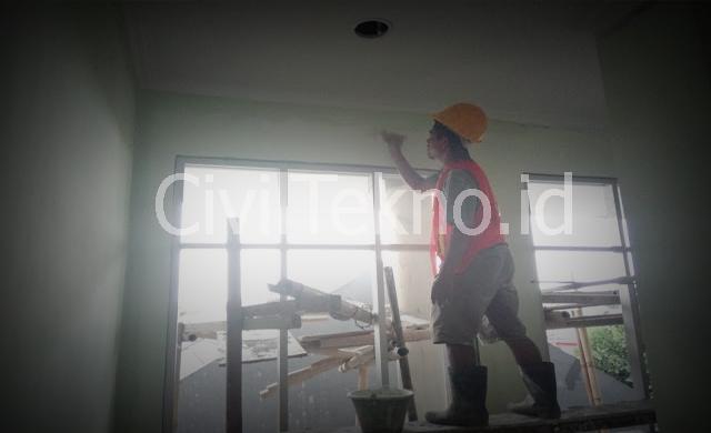 Metode Pelaksanaan Pekerjaan Pengecatan Dinding