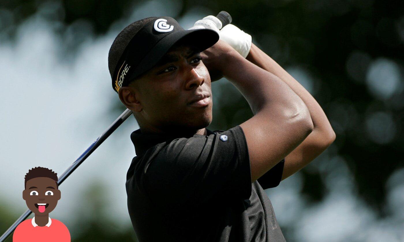 El golfista sordo Kevin Hall