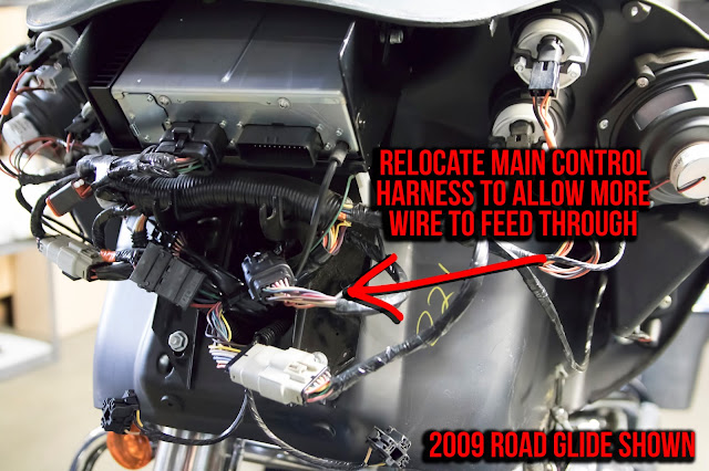 factory       pre  road glide wires